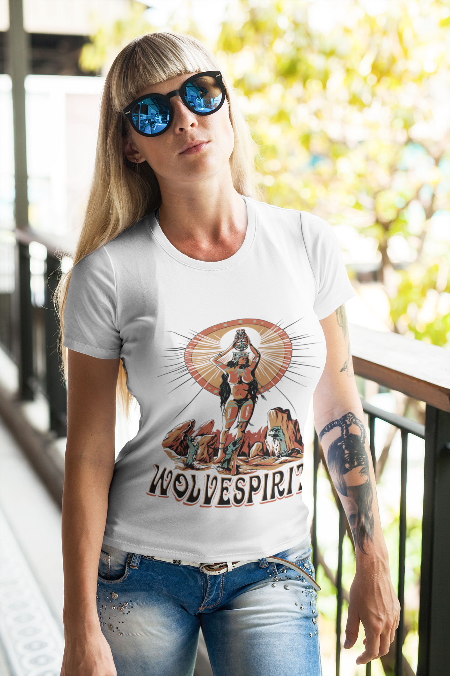 Cherokee Zombie Shirt - Ladies