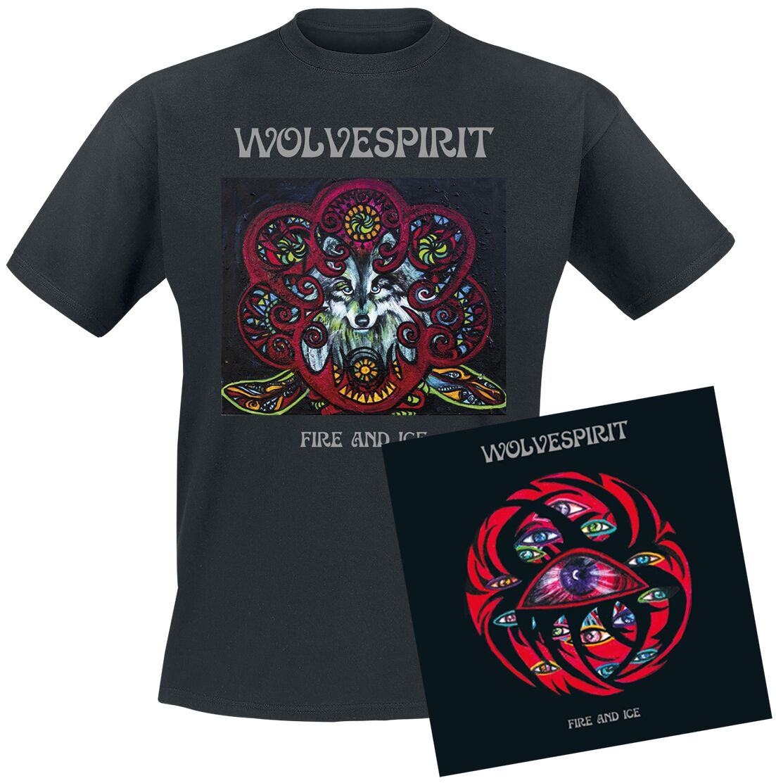 "Shirt and ""Fire and Ice"" Album Bundle"