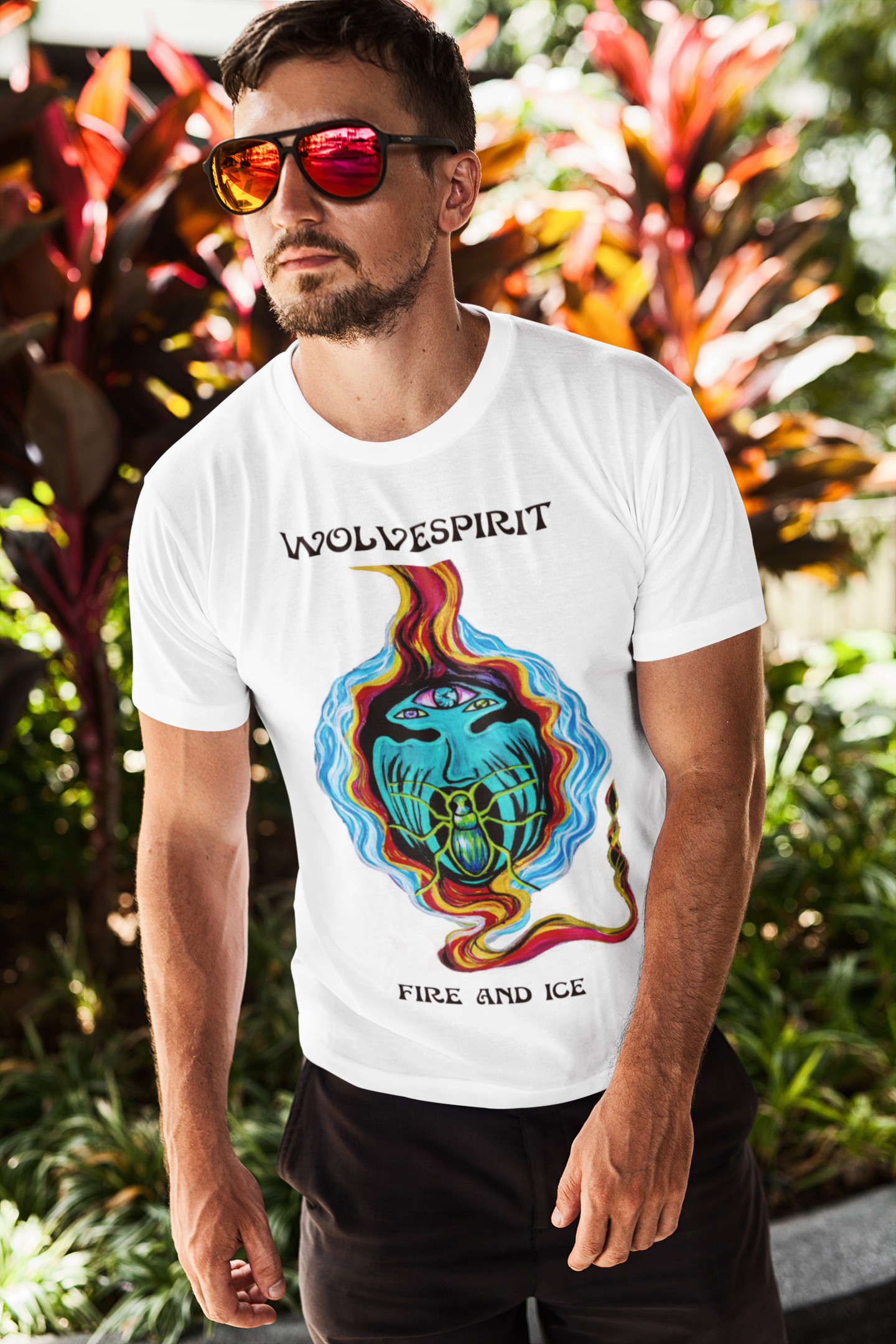 Fire Bug T Shirt - Men